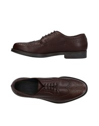 Alberto Guardiani Lace Up Shoes Brown