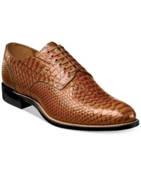Stacy Adams Shoes Madison Oxfords Men's Shoes Tan