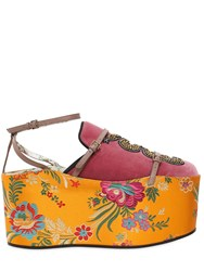 Gucci 80Mm Hannelore Tokyo Mules And Platforms