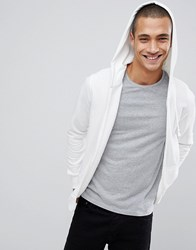 Pull And Bear Pullandbear Join Life Hoodie In White