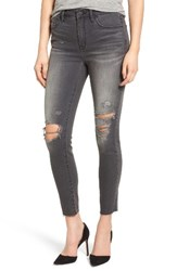 Treasure And Bond Women's High Rise Ankle Skinny Jeans