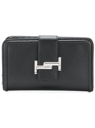 Tod's Double T Wallet Black