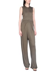 Kai Aakmann Jumpsuits Military Green