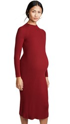 Hatch The Renee Dress Currant