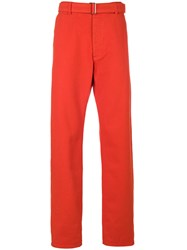 Ami Alexandre Mattiussi Large Fit Jeans Red