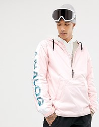 Analog Chainlink Anorak In Pink