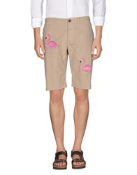 The Editor Trousers Bermuda Shorts Beige