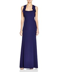 Decode 1.8 Cutout Back Gown Navy
