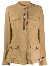 Bazar Deluxe Military Jacket Brown