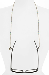 Corinne Mccormack Beaded Eyeglass Chain Gold