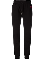Mcq By Alexander Mcqueen Embroidered Dove Track Pants Black