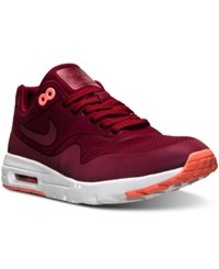 Nike Women's Air Max 1 Ultra Moire Running Sneakers From Finish Line Noble Red Noble Red