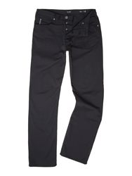 Armani Jeans 5 Pocket Regular Fit Gaberdine Trouser Navy