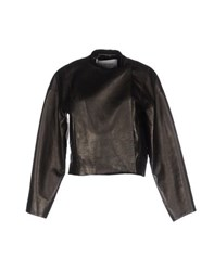 Maison Rabih Kayrouz Coats And Jackets Jackets Women Dark Brown