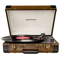 Crosley Executive Usb Turntable Brown Black