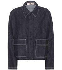 Marni Denim Jacket Blue