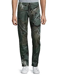 Palm Angels Cotton Drawstring Pants Camo