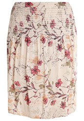 Cream Alala Aline Skirt Smoke Sand Off White