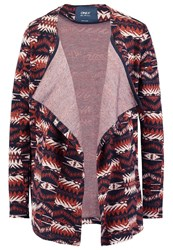 Only Onlnavajo Cardigan Brandy Brown Dark Brown