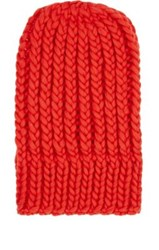 Wommelsdorff Women's Jenna Chunky Virgin Wool Beanie Red