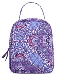 Vera Bradley Signature Lunch Tote Lilac Tapestry