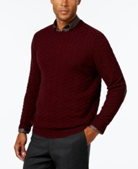 Tasso Elba Men's Big And Tall Chevron Sweater Only At Macy's Port Combo