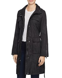 T Tahari Giselle Raincoat Black