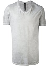 Tom Rebl Classic T Shirt Men Cotton M Grey