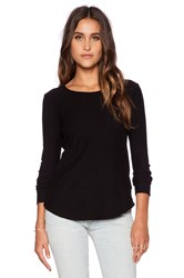 Citizens Of Humanity Ellie Long Sleeve T Shirt Black