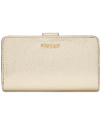 Nine West Quilted Wallet Platino Mm