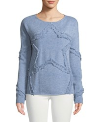 Lisa Todd Starlet Cashmere Sweater Petite Silver Mist
