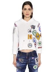 Dsquared Patches Embellished Sweatshirt