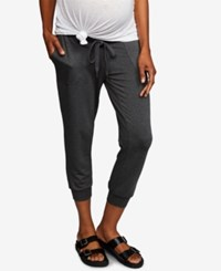 A Pea In The Pod Maternity Jogger Pants Charcoal