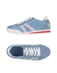 U.S. Polo Assn. U.S.Polo Footwear Low Tops And Sneakers Azure