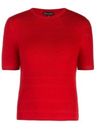 Narciso Rodriguez X The Conservatory Knit Top Red