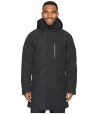 Nau Copenhagen Down Trench Coat Caviar Men's Coat Black