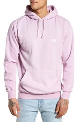 Obey Jumble Lo Fi Pigment Dyed Hoodie Dusty Lavender