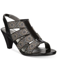 Karen Scott Nicolle Slingback Sandals Created For Macy's Women's Shoes Black