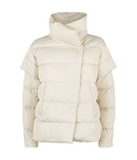 Maxmara Weekend Finezza Puffer Jacket Beige