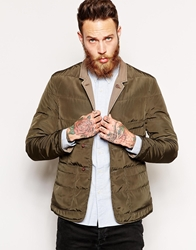 Universal Works Reversible Quilted Blazer Olive