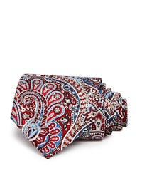 Bloomingdale's The Men's Store At Paisley Classic Tie Red