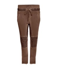 Haider Ackermann Cotton Track Pants Brown