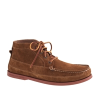 Men's Sperry Top Sider For J.Crew Suede Chukka Boots Harvest Brown