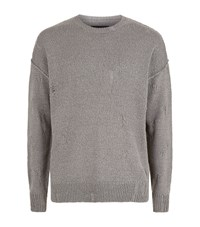 Allsaints Ektarr Crew Jumper Male Neutral
