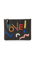 Lizzie Fortunato Zip Pouch Love Wins