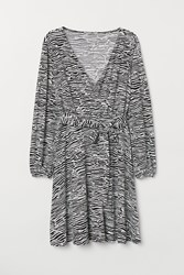 Handm H M H M Wrap Dress Black