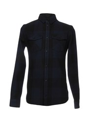 Eleven Paris Shirts Dark Blue