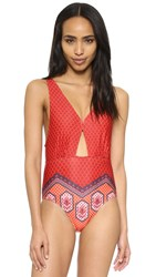 Minkpink Rosewater Swimsuit Multi