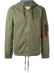 Alpha Industries Alpha Industries Ai166133 Olive Cotton Green