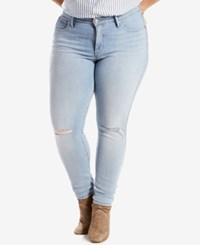 Levi's Plus Size 310 Shaping Super Skinny Jeans Poppy Hills